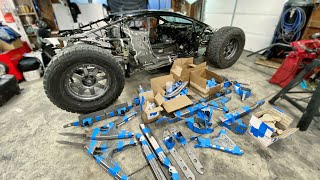 Building Long Travel Suspension for my Off-Road Lamborghini Huracan