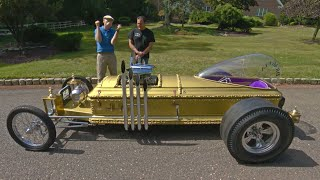 The Munsters Drag-U-La Coffin Car and Koach
