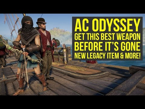 Assassin's Creed Odyssey Best Weapons - Get This BEFORE IT'S GONE & Unique Item Unlocked (AC Odyssey