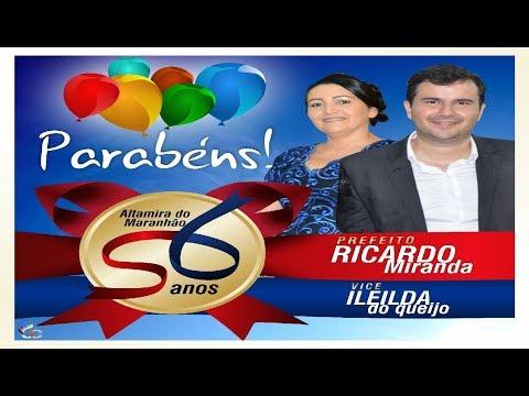 56º Aniversário de Altamira do Maranhão - #discursos...