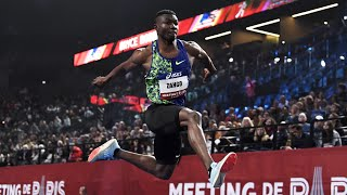 Meeting de Paris Indoor 2020 : Hugues-Fabrice Zango avec 17,77 m au triple saut (Record d'Afrique)