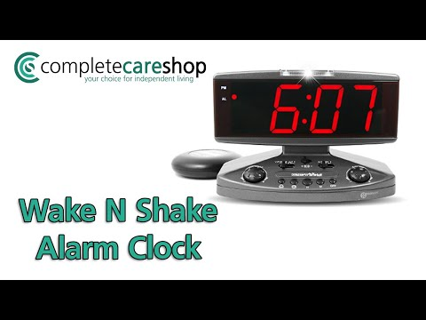 Video Overview Of The Geemarc Wake N Shake Extra Loud Alarm Clock