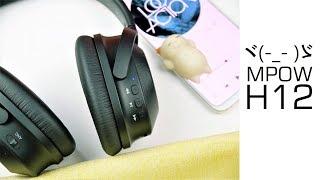 MPow H12 Kopfhörer - 50€ für ANC - Dual Mic und netten Sound - Moschuss.de