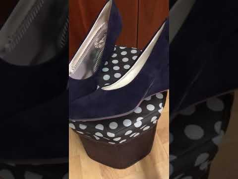 Suede Pumps Wedge Heels Ladies Vintage elegant Womens high heel Shoes Size 2-10 SH34#