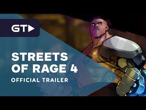 Streets of Rage 4 - Official Floyd Iraia & Multiplayer Trailer