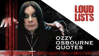 10 Greatest Ozzy Osbourne Quotes