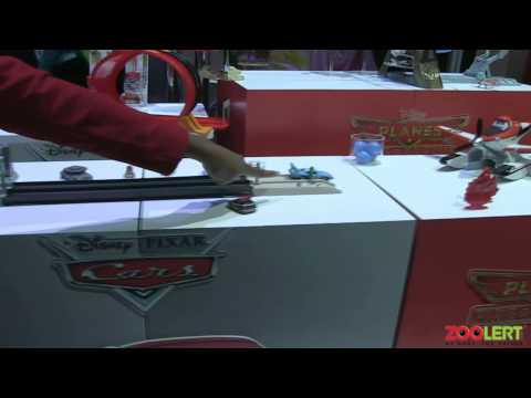 Disney Pixar Cars And Playset Toys At New York Toy Fair 2014