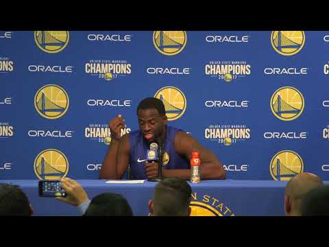 Full video: Draymond Green responds to NBA fine, says 'silly me'