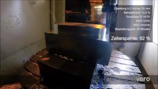 Vero Software GmbH: Wellenförmiges Schruppen mit WorkNC