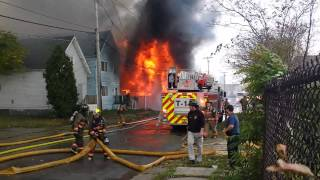 preview picture of video '4th Alarm Fire, 463 Howard St, Buffalo, Ny'