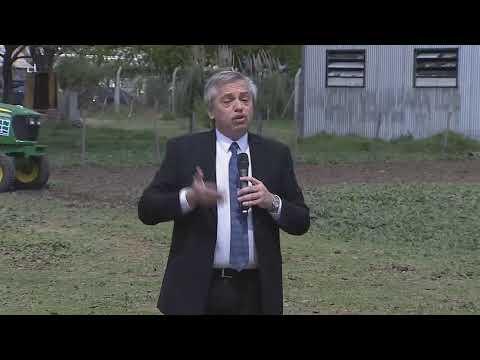 ALBERTO FERNANDEZ, argentina contra el hambre