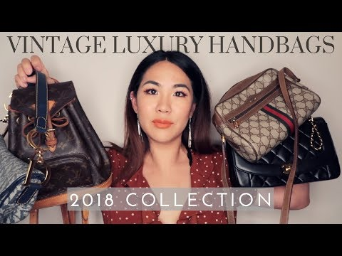 VINTAGE DESIGNER HANDBAG COLLECTION 2018