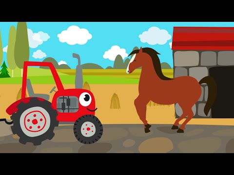 Песенки для детей - Животные - развивающая детская песенка - загадка для детей малышей видео
