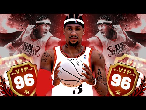 NBA 2K19 MyPARK - 96 Overall ALLEN IVERSON Dominating The Park!!