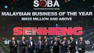Senheng wins big at SOBA 2018