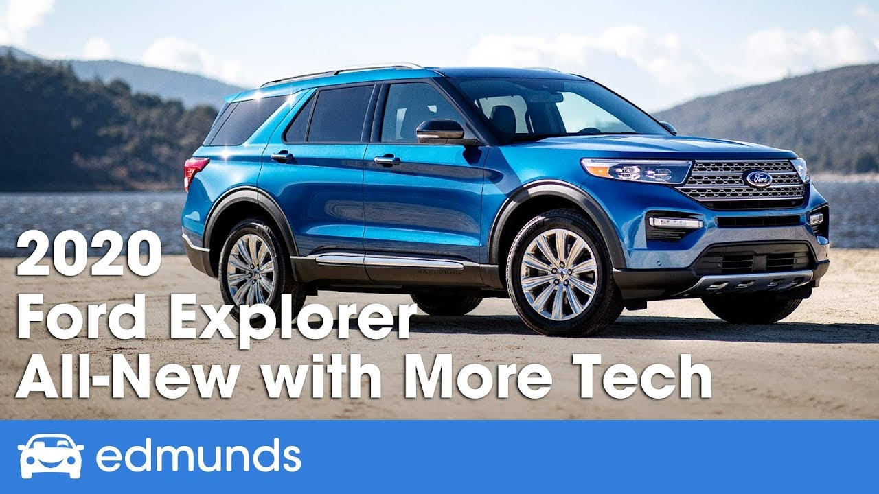 2020 Ford Explorer First Look Ny Auto Show
