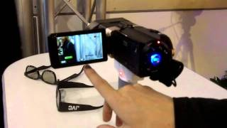 CES 2011: JVC 3D camcorder interview