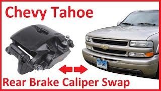 Chevy Tahoe / GMC Yukon Rear Brake Job - Caliper and Rotor Replacement