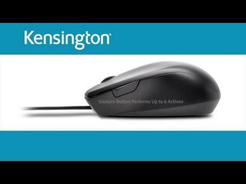 Kensington ProFit vezetékes egér, fekete