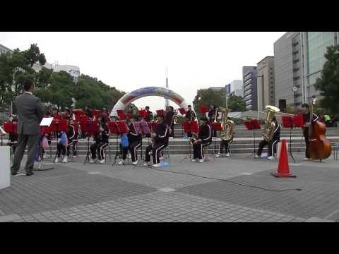 当知中学校 吹奏楽部 @ 栄まちじゅう音楽広場 2015