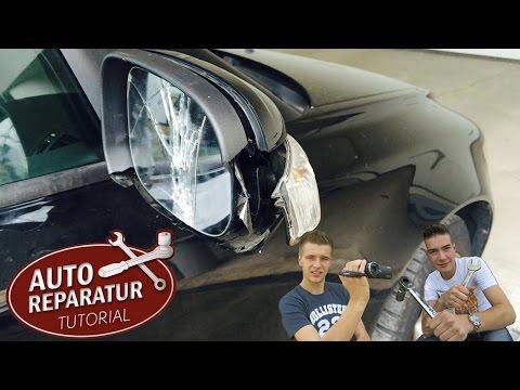Außenspiegel wechseln   erneuern reparieren VW BMW OPEL AUDI   DIY Tutorial