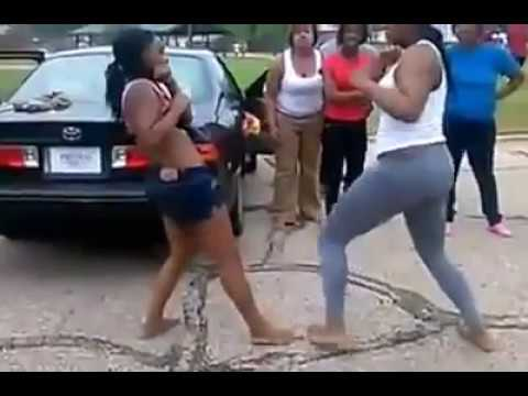 Black girls fight over Facebook beef