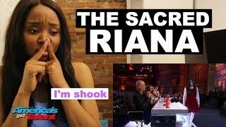 America's Got Talent 2018 - The Sacred Riana - REACTION | ibukola