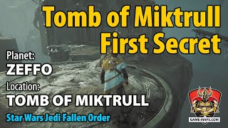 Video Zeffo Tomb of Miktrull First Secret