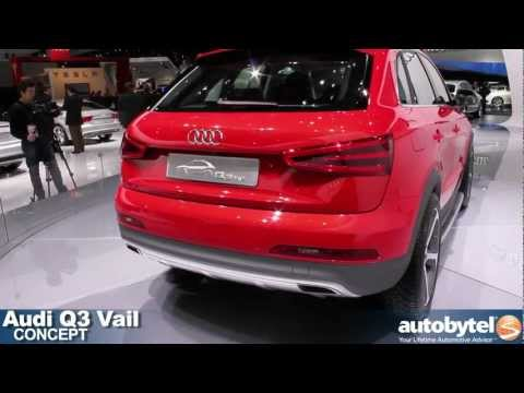 Audi Q3 Vail Concept at the 2012 Detroit Auto Show video