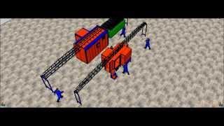 Halfline Semi Automatic Electrostatic Powder Coating Line | ELEKTROSTATİK TOZ BOYA TESİSİ