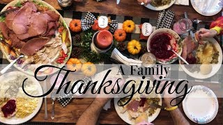 A FAMILY THANKSGIVING
