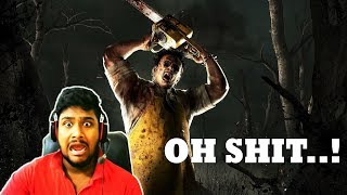 🤣ABE BHAAG MONSTER NE DAUDA LIYA😱🤣 II JUMPSCARE AND FUNNY  MOMENT IN DEAD BY DAYLIGHT