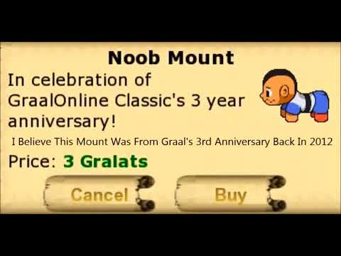 How to get free VIP and mount by neo in Graal Classic
