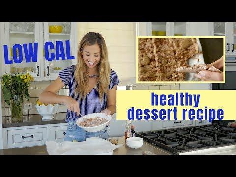HEALTHY LOW CAL DESSERT RECIPE | Chocolate Cheesecake Yogurt Brittle