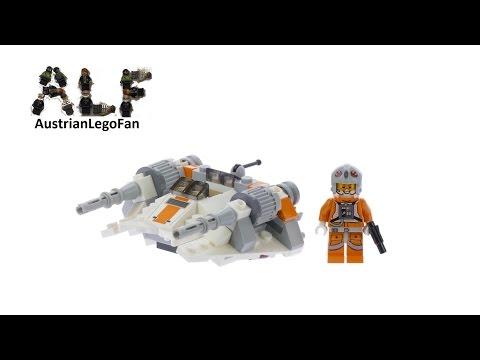 Vidéo LEGO Star Wars 75074 : Snowspeeder