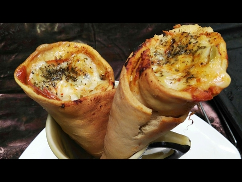 Pizza Cone ll without Cone Shaper ll by Tasty Food Kitchen