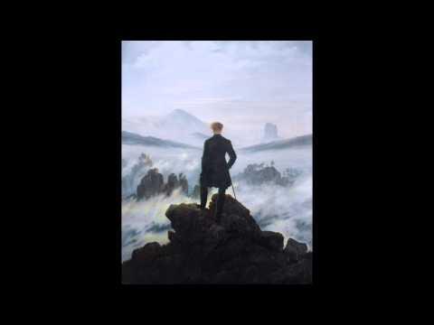 Wanderer Above the Sea of Fog - Caspar David Friedrich