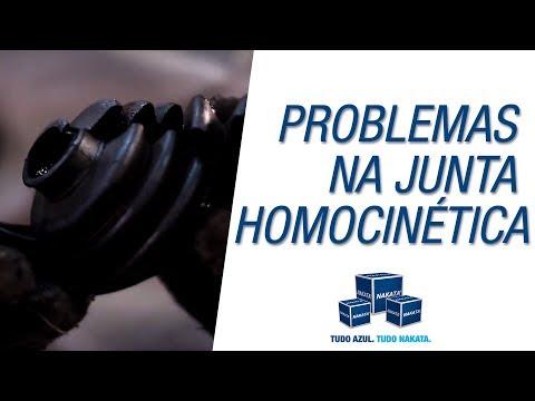 Indícios de problemas nas juntas homocinéticas