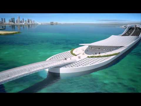 Futurystyczny projekt w katarskiej Dausze