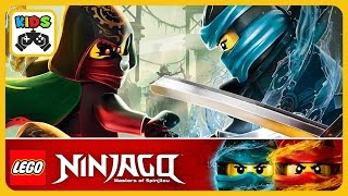 ЛЕГО Ниндзяго Ву Кру * LEGO Ninjago WU CRU * Мультик игра для детей