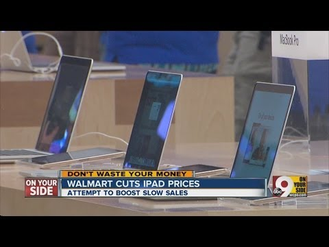 Walmart slashes prices in iPad