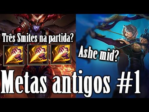 METAS Antigos #1 Três Golpear ? League of legends