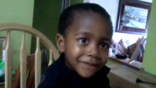 My baby Aaron