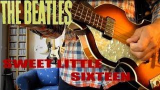 Beatles - Sweet Little Sixteen - Skiffle bass solo!