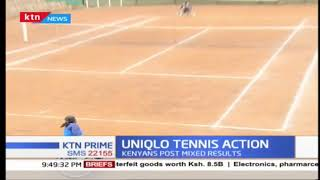 Kenyan representatives post mixed results in Dayone of the Uniglo wheelchair tennis