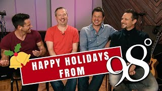 98 Degrees on Holiday Traditions + New Album