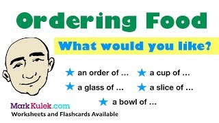 Ordering Food in a Restaurant for Breakfast | English Speaking Practice | ESL