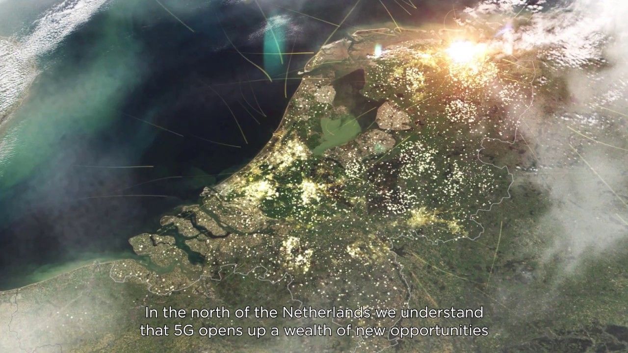 5Groningen program: the northern of the Netherlands is the ideal testing ground for 5G applications