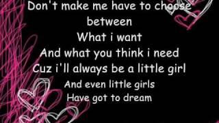 Hannah Montana - Don't Wanna Be Torn (Lyrics in video)