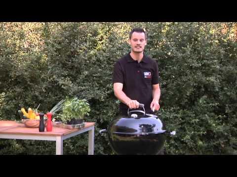 Weber systém grilování - grily na dřevěné uhlí